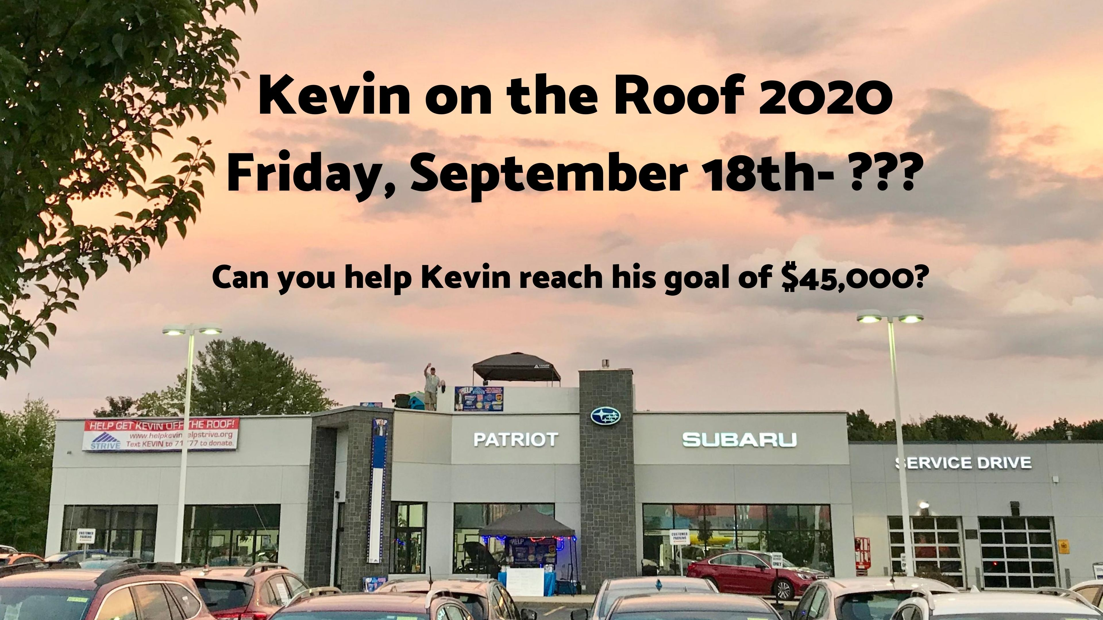 Kevin on the Roof 2020 image